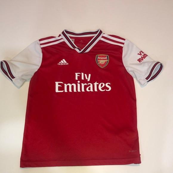 Boys Adidas ARSENAL Soccer Jersey - Size M